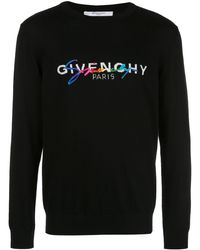 Givenchy Maglione con logo - Nero