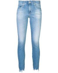 AG Jeans ウォッシュド ジーンズ - ブルー