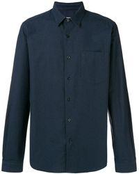 AMI チェストポケット シャツ - ブルー