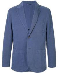 Gieves & Hawkes リラックスフィット ジャケット - ブルー