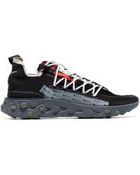 Nike X Ispa React Sneakers - Zwart