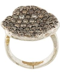 Rosa Maria - Pave Diamond Ring - Lyst