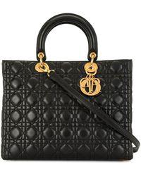 Dior Pre-owned Lady Dior Handtasche - Schwarz