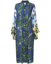 Michel Klein - Cappotto stile kimono - Lyst