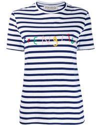 Être Cécile Camiseta Frenglish - Blanco