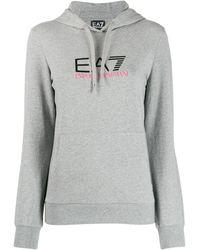 EA7 - ロゴパーカー - Lyst