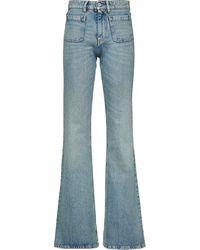 Miu Miu Flared Jane Jeans - Blue