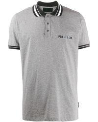 Philipp Plein ロゴ ポロシャツ - グレー