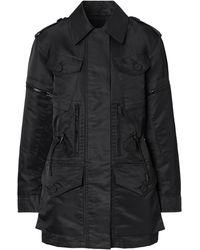 Burberry ホースフェリー ジャケット - ブラック