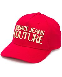 Versace Jeans ロゴ キャップ - レッド