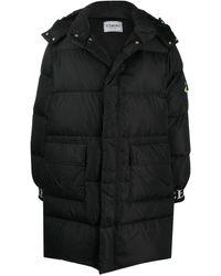 Iceberg パデッドコート - ブラック