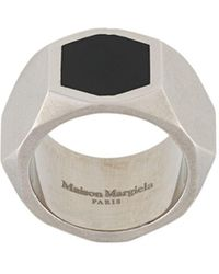 Maison Margiela Geometrische Ring - Metallic