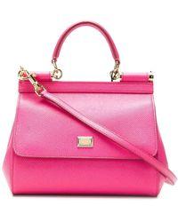 Dolce & Gabbana Sicily ハンドバッグ - ピンク