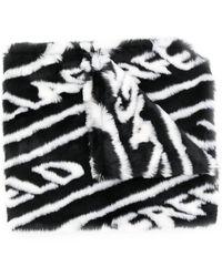 Karl Lagerfeld K/fur Scarf - Black