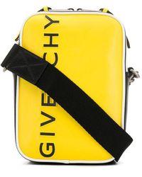 Givenchy Logo Messenger Bag - Yellow