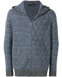 The Elder Statesman - Hooded Cashmere Cardigan - Lyst