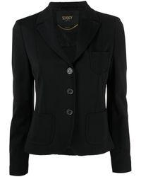 Seventy テーラード シングルジャケット - ブラック