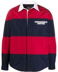 DSquared² Легкая Куртка В Полоску - Красный