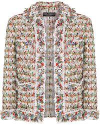 Dolce & Gabbana Jack Met Knoop - Wit