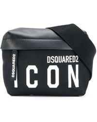 DSquared² Поясная Сумка С Логотипом - Черный