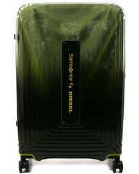 DIESEL X Samsonite Neopulse Spinner Case - Green