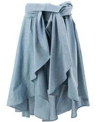 Faith Connexion - Draped Skirt - Lyst