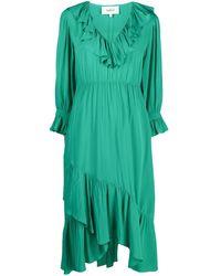 Ba&sh ラッフル ドレス - グリーン