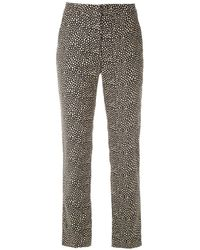 Egrey Printed Straight-fit Trousers - Multicolour