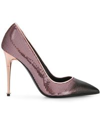 Tom Ford - Sequinned Contrast Toe Court Shoes - Lyst