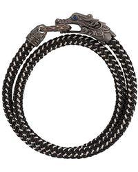 John Hardy Браслет Legends Naga - Черный
