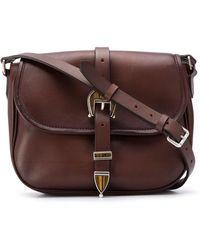 Golden Goose Deluxe Brand Buckle-detail Cross-body Bag - Brown