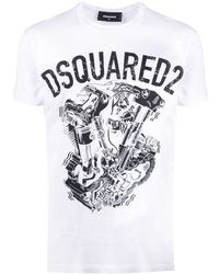 DSquared² - Industrial Truck Tシャツ - Lyst