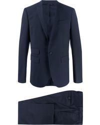Les Hommes ツーピース スーツ - ブルー