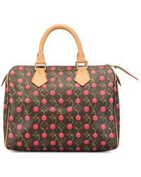 Louis Vuitton 2005 Pre-owned Speedy 25 Cherry Holdall - Brown