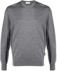 Z Zegna Long-sleeve Sweatshirt - Gray