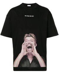 ih nom uh nit T-shirt David Bowie - Noir