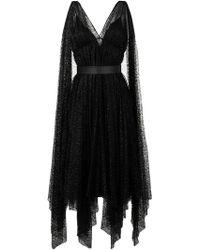 Moschino - Kleid mit offenem Rückenausschnitt - Lyst