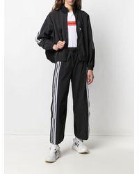 adidas Originals スナップボタン パンツ - ブラック