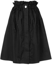 Proenza Schouler ドローストリング スカート - ブラック