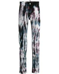DSquared² Jeans mit Print - Blau