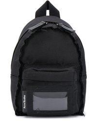 Acne Studios マルチポケット バックパック - ブラック