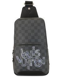 Louis Vuitton Mochila S/S Avenue Sling 2020 pre-owned - Negro
