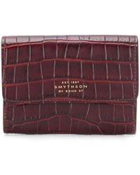 Smythson Mara 財布 - マルチカラー