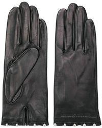 Emporio Armani - Stud-embellished Gloves - Lyst