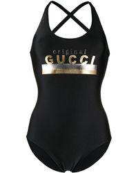 Gucci Original ワンピース水着 - ブラック