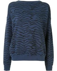 The Upside Alena タイガー スウェットシャツ - ブルー