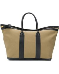 Tom Ford Large Canvas Holdall - Green