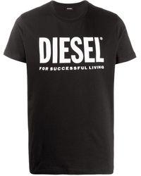 DIESEL - ロゴ Tシャツ - Lyst