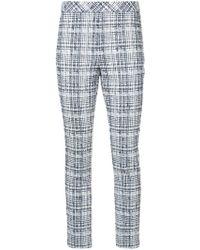Rosetta Getty - Skinny Tweed Trousers - Lyst