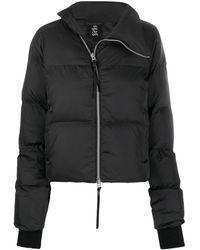 Thom Krom キルティング パデッドジャケット - ブラック